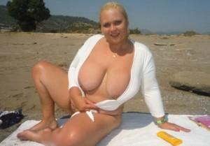 GeileManuela - blondine mit dicken titten